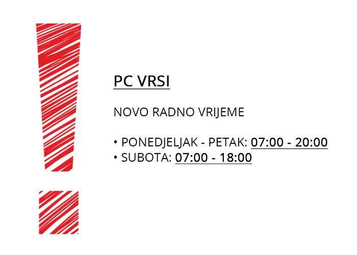 Radno vrijeme Maraš Zadar
